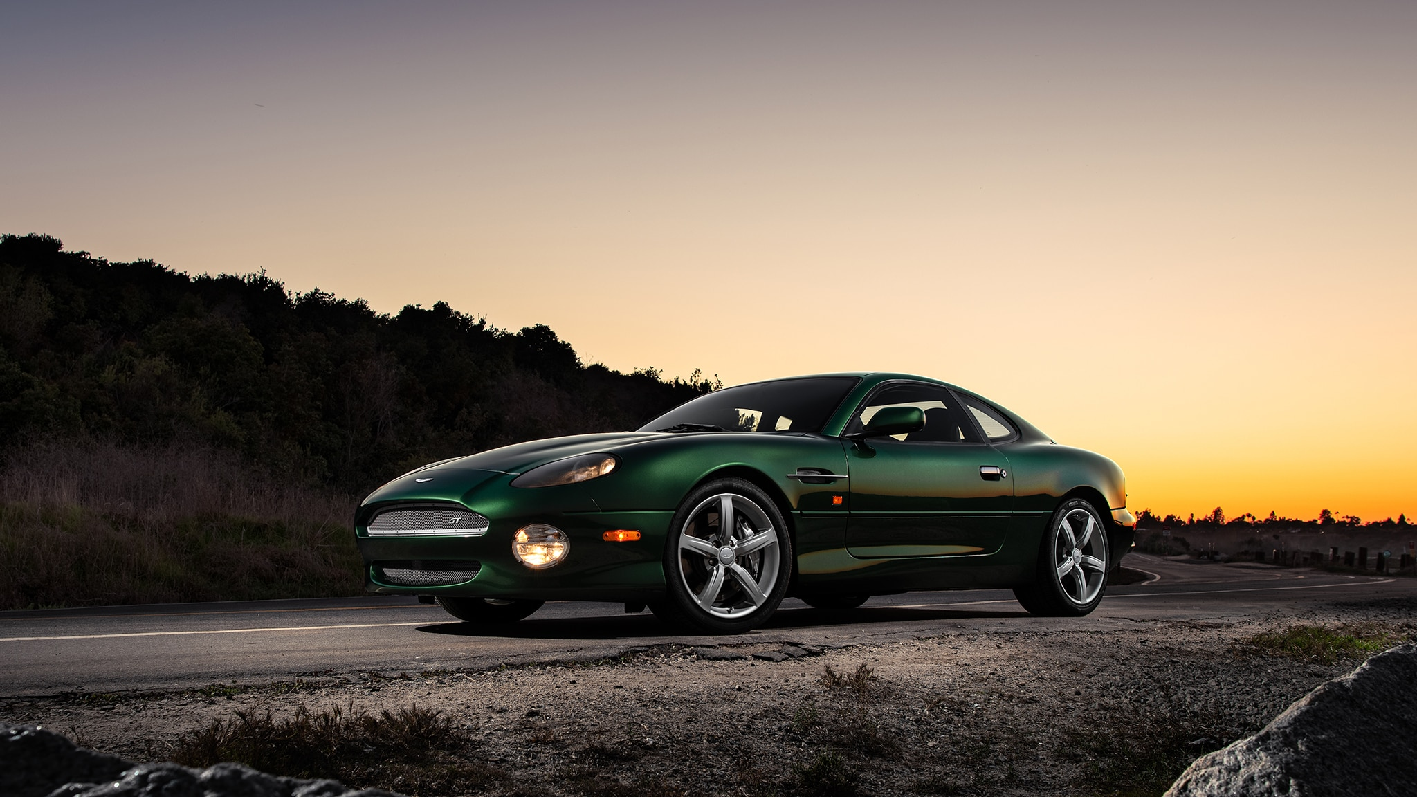 Aston Martin Db7 Gt Classic Drive Exclusive Features Technology Shout