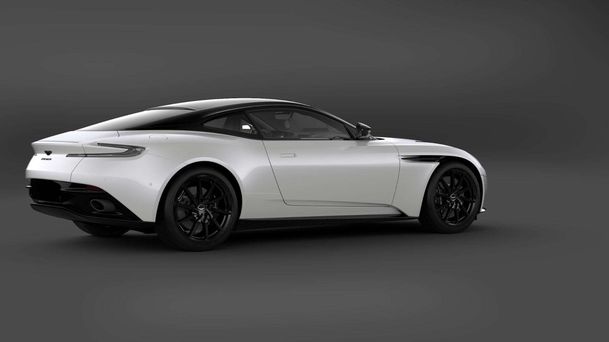2021 Aston Martin Db11 Shadow Edition Is A Black Wagon Technology Shout