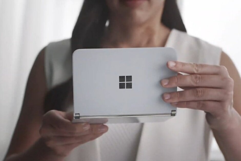 Your wish has been granted Microsofts Surface Duo might launch much earlier than expected