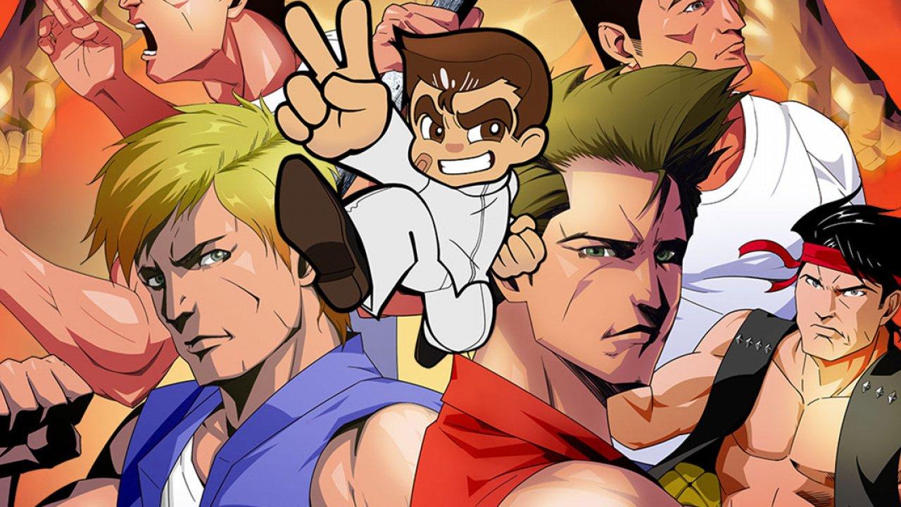 Double Dragon Kunio Kun Retro Brawler Bundle Review Switch Eshop Technology Shout