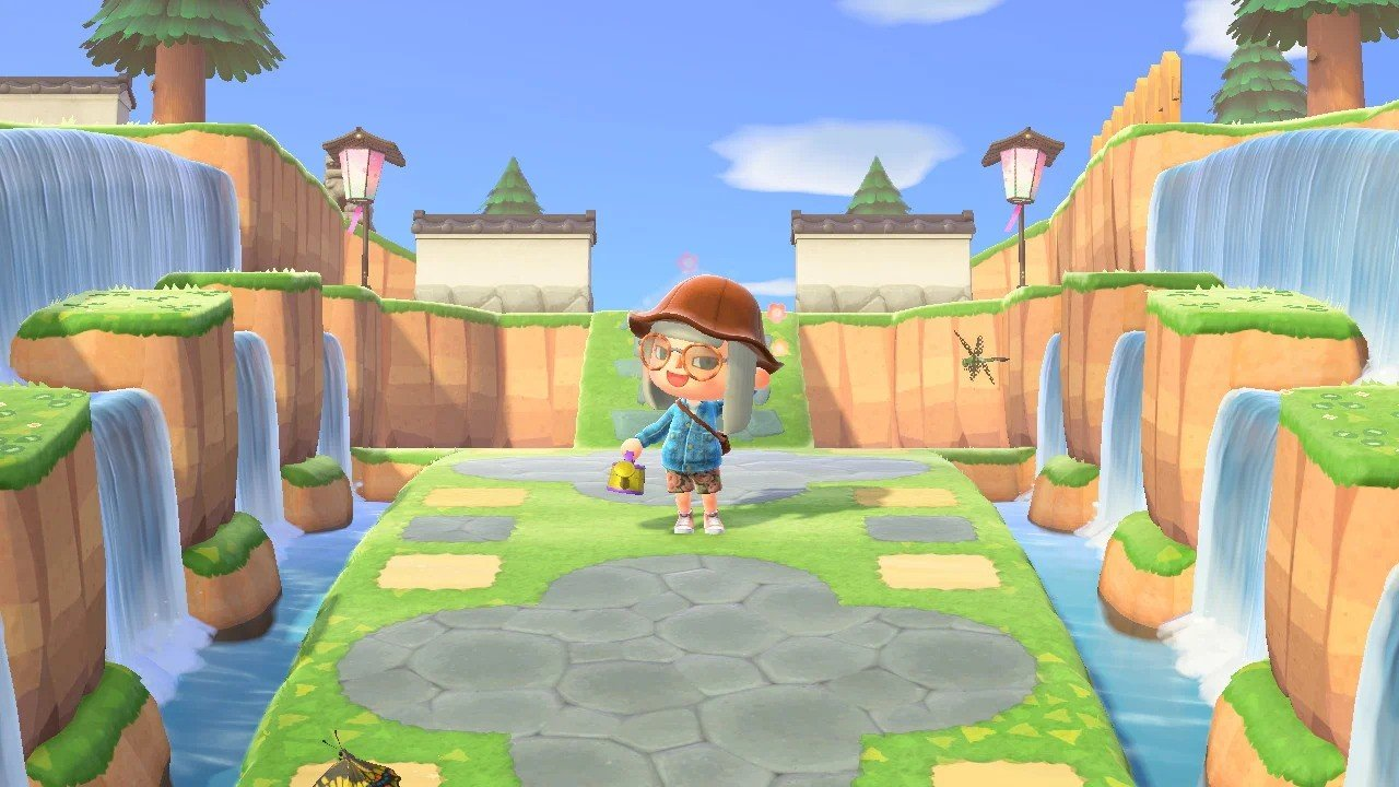 animal crossing new horizons forest island ideas