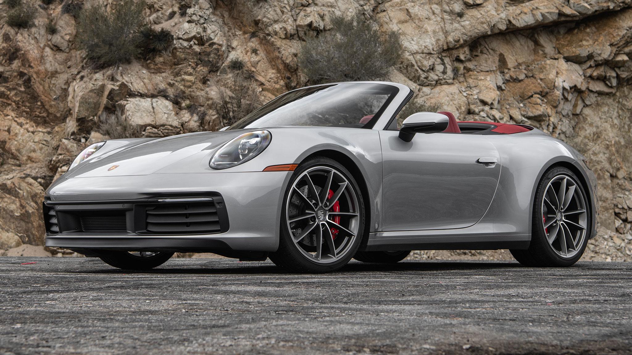 2020 Porsche 911 Carrera S Cabriolet First Drive Technology Shout