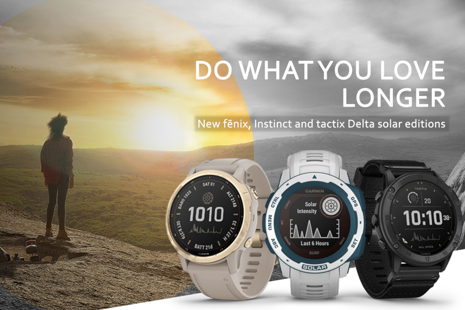 Garmin launches new old solar powered smartwatches
